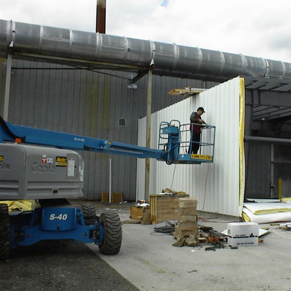 Stirnco Steel, Steel Building Installation in Redmond, Washington